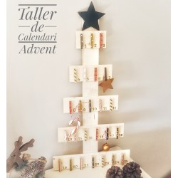 Taller de calendari advent 25 Novembre    ESGOTADES